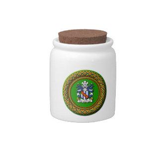 Stradling Crest Candy Jar