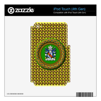 Stradling Crest - iPod Touch (4th Gen) iPod Touch 4G Skins