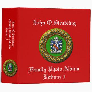 Stradling Family Photo Album 3 Ring Binder