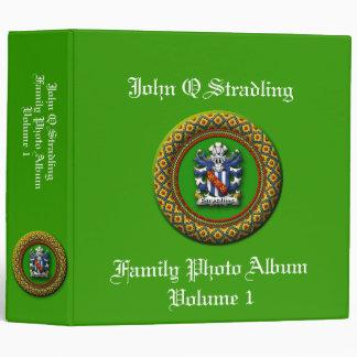 Stradling Family Photo Album Vinyl Binder