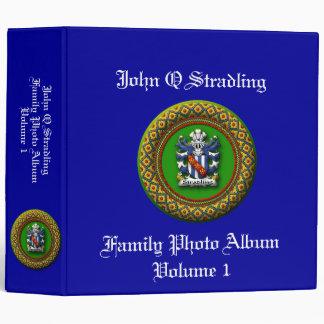 Stradling Family Photo Album Vinyl Binders