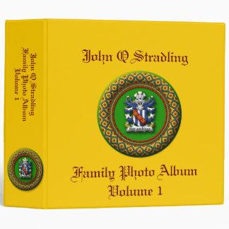 Stradling Family Photo Album Binder