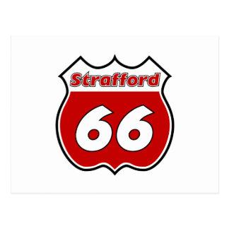 Strafford 66 postcard