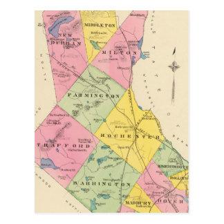 Strafford County, NH Postcard