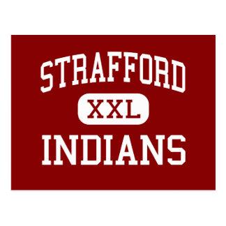 Strafford - Indians - Middle - Strafford Missouri Postcard