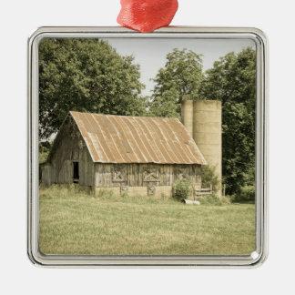 Strafford Mo Barn Antique Metal Ornament