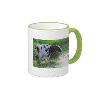 Straggled cow coffee mug