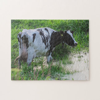 Straggled cow jigsaw puzzle