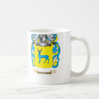 Strahan Coat of Arms Family Crest Mugs
