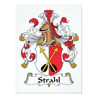 Strahl Family Crest Card