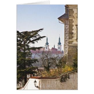 Strahov Monastery Prague Card