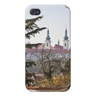 Strahov Monastery Prague iPhone 4 Covers