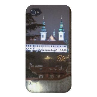 Strahov Monastery Prague Night iPhone 4/4S Case