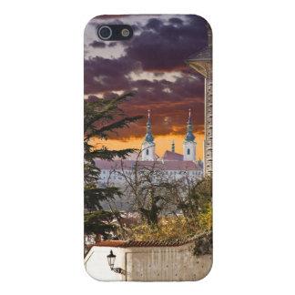 Strahov Monastery Prague Sunset Cover For iPhone SE/5/5s