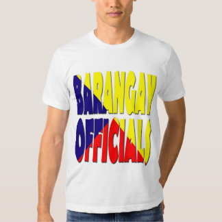 Straight 3colors brgy off. t shirt