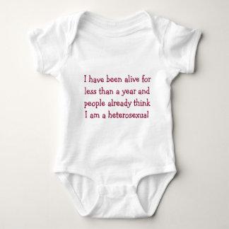 Straight Agenda baby suit Baby Bodysuit