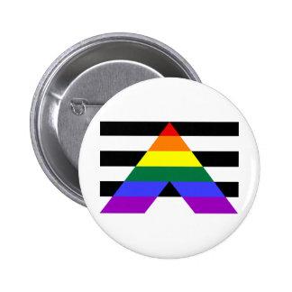 Straight Allies Pinback Button