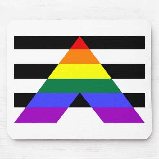Straight Allies Mouse Pad