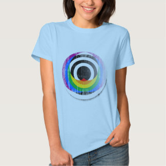 Straight Ally Button distressed.png Shirt