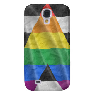 STRAIGHT ALLY FLAG GALAXY S4 COVER