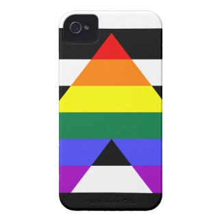 Straight Ally flag Case-Mate iPhone 4 Case