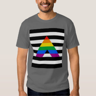 Straight Ally Flag LGBT Gay Supporter Dresses