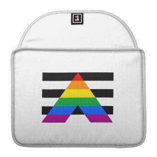 Straight Ally Flag MacBook Pro Sleeve