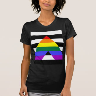 Straight Ally flag T-Shirt