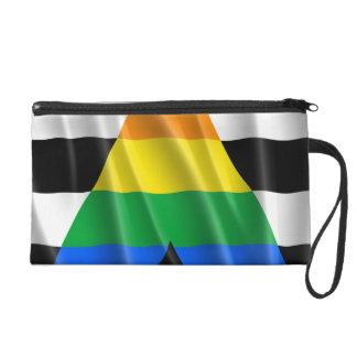 STRAIGHT ALLY FLAG WAVY DESIGN WRISTLET