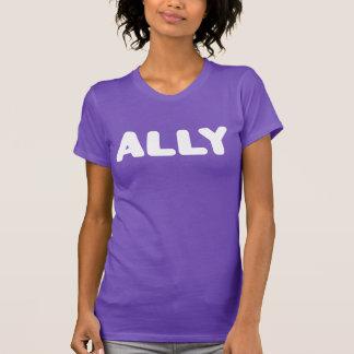 Straight Ally LGBTAPQ Allies Supporters Spirit Day T-Shirt