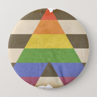 STRAIGHT ALLY PINBACK BUTTON