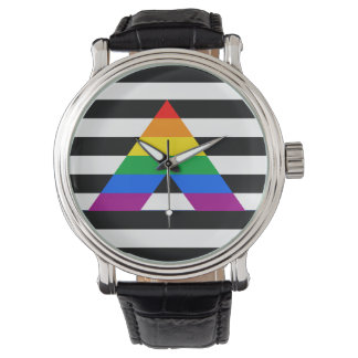 STRAIGHT ALLY PRIDE 2014 PRIDE WRIST WATCH