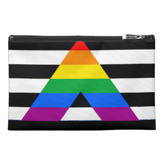 STRAIGHT ALLY PRIDE TRAVEL ACCESSORIES BAG