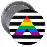 Straight Ally Pride Button