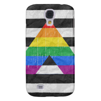 Straight Ally Pride distressed Samsung Galaxy S4 Case