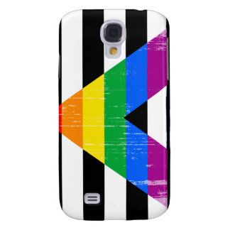 Straight Ally Pride distressed Galaxy S4 Case