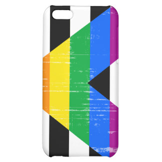 Straight Ally Pride distressed iPhone 5C Cover