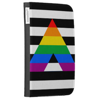 STRAIGHT ALLY PRIDE FLAG KINDLE 3G COVERS