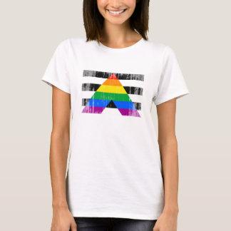 Straight Ally Pride Flag T-Shirt