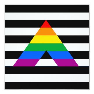 Straight Ally Pride Custom Invites