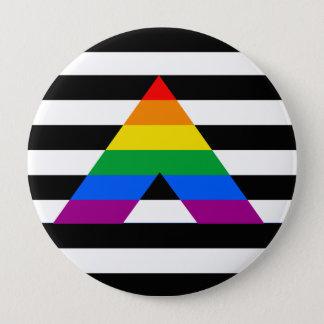 Straight Ally Pride Pinback Button