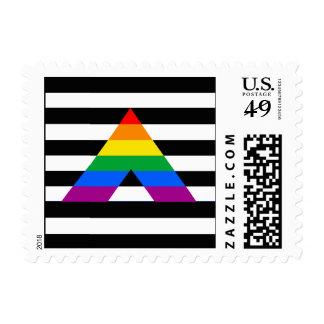 Straight Ally Pride Postage