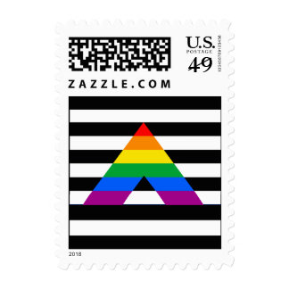 Straight Ally Pride Postage Stamps