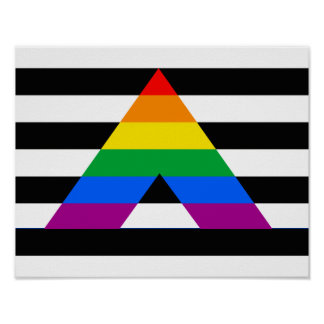 Straight Ally Pride Posters