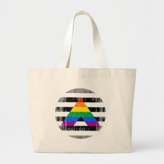 Straight Ally Pride Round distressed.png Bag