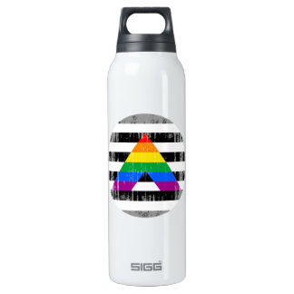 Straight Ally Pride Round distressed SIGG Thermo 0.5L Insulated Bottle