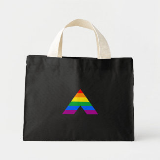 Straight Ally Symbol Tote Bags