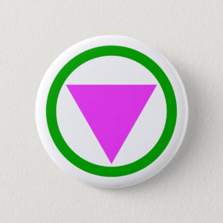 Straight ally symbol button