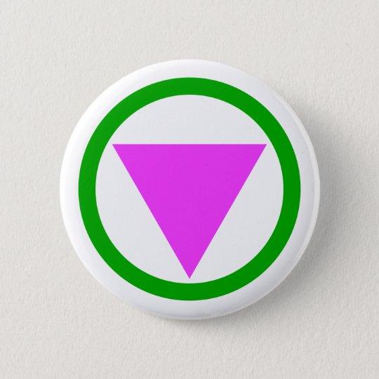 Straight Ally Symbol Button Zazzle