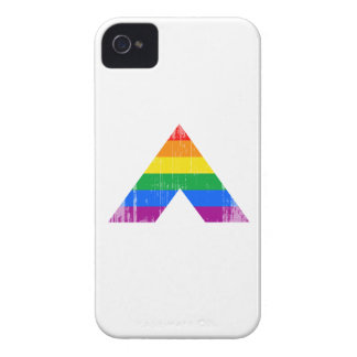 Straight Ally Symbol distressed.png iPhone 4 Case
